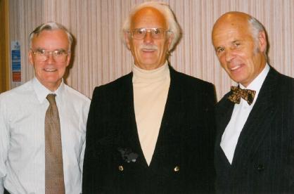 Dr Angus Gibson, Professor Gavin Arneil and Dr John McClure