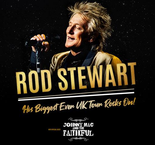 Win 2 tickets to see Rod Stewart in Glasgow