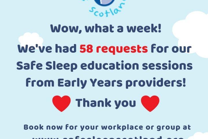 A busy week for Safe Sleep!